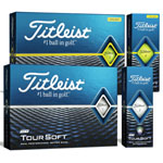 8105 Titleist New 2018 Tour Soft Golf Balls