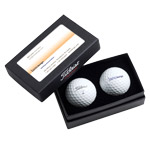 8234 Titleist 2 Ball Business Card Box (RM54182)